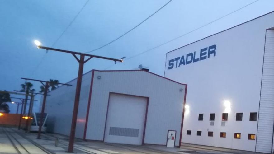 Factoría de Stadler en Albuixec