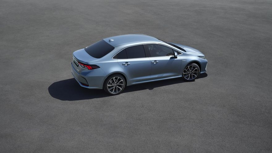 El Corolla Sedán hybrid incorpora de serie el paquete Toyota Safety Sense.