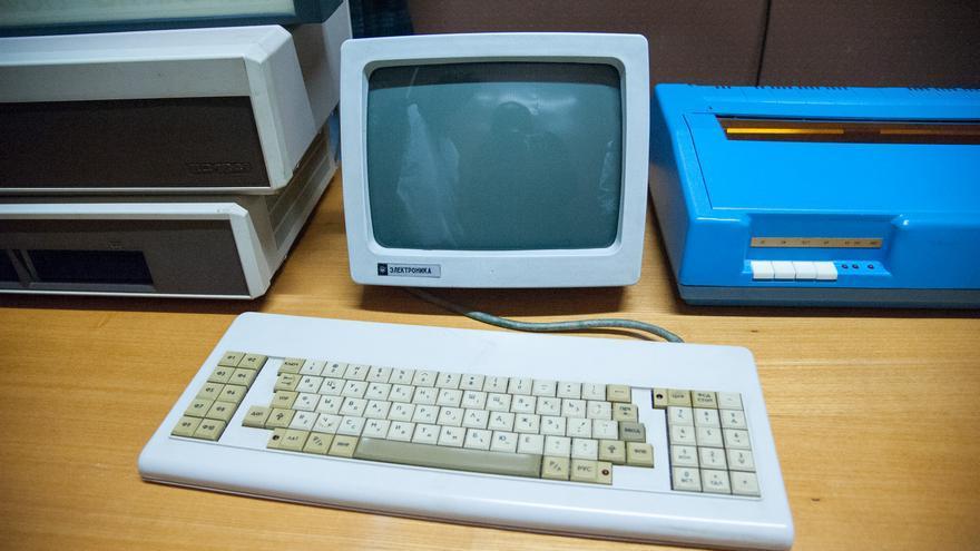 Foto de un viejo ordenador en Letonia (Imagen: Sigur Raje | Flickr)