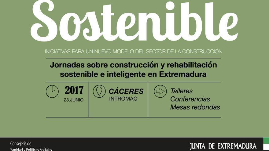 Construccion sostenible jornada Cáceres