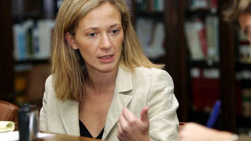 Victoria Rosell, portavoz en Canarias de Jueces para la Democracia. (CANARIAS AHORA)