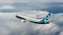 El Boeing 737 MAX, en una imagen promocional difundida por la compañía