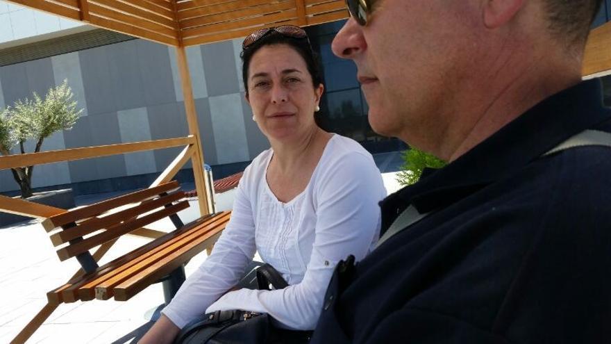 Antonia Ugalde y Pedro Torrado