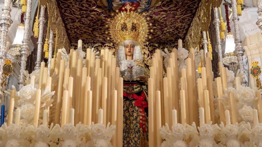 La Virgen de la Caridad de Sevilla lucirá el fajín de Franco en la procesión