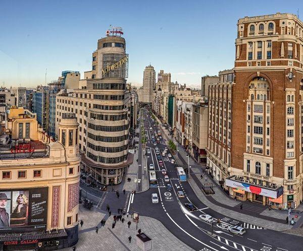 Recreación de la futura Gran Vía | Ayuntamiento de Madrid