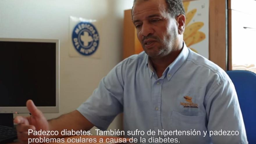 Dris Rbaa, inmigrante sin tarjeta sanitaria / Médicos del Mundo