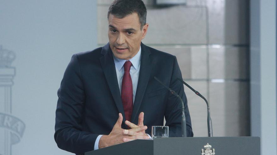 Pedro Sánchez ha presidido este domingo la reunión del comité de seguimiento de la situación en Catalunya.