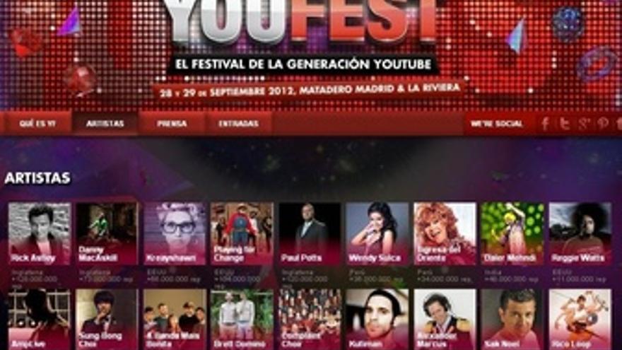 Imagen Del Cartel De Youfest