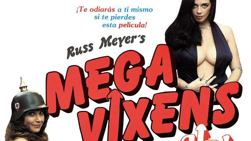 Cartel de la película 'Megavixen' (1976) de Russ Meyer