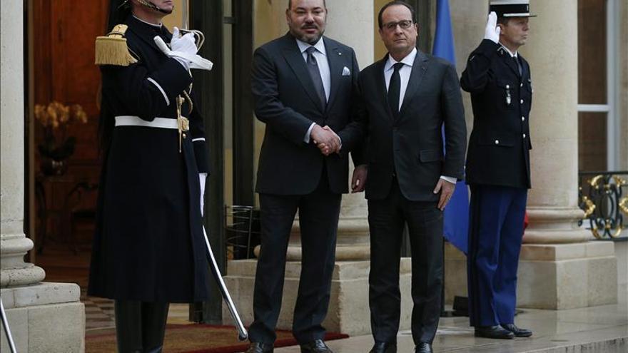 """Francia y Marruecos, """"determinados"""" a luchar juntos contra el terrorismo"""