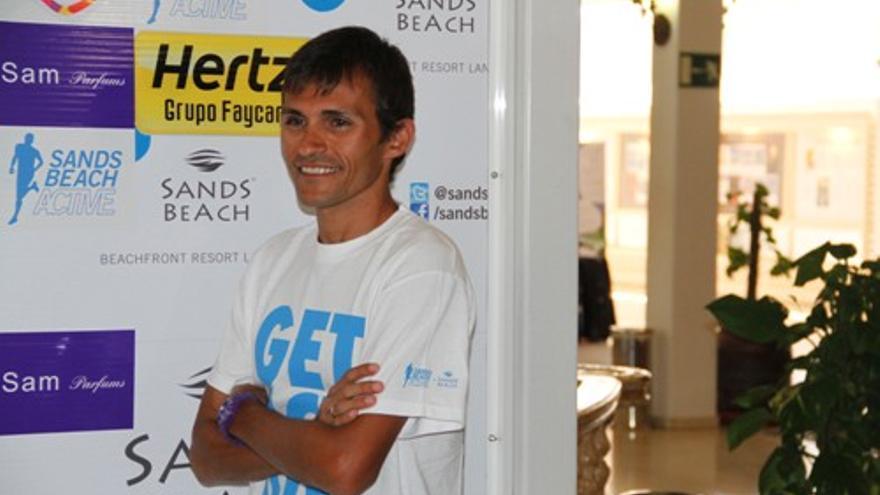 Jose Carlos Hernández en rueda de prensa (Sergio Betancort).