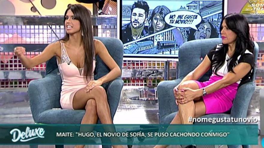 La última historieta de Sofía ('GH') y su madre en un plató de Telecinco