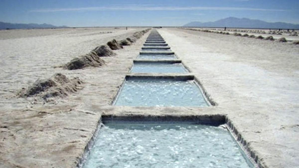 Argentina es el tercer productor mundial de litio, detrás de Australia y Chile.