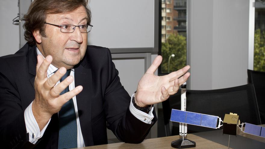 Luis Sahún, director general del operador de satélites Astra Ibérica.