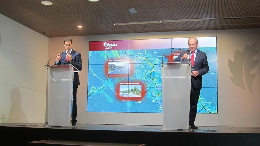 Ayuntamiento de Bilbao y la Diputación vizcaína invertirán 6,5 millones para transformar cuatro tramos de carreteras