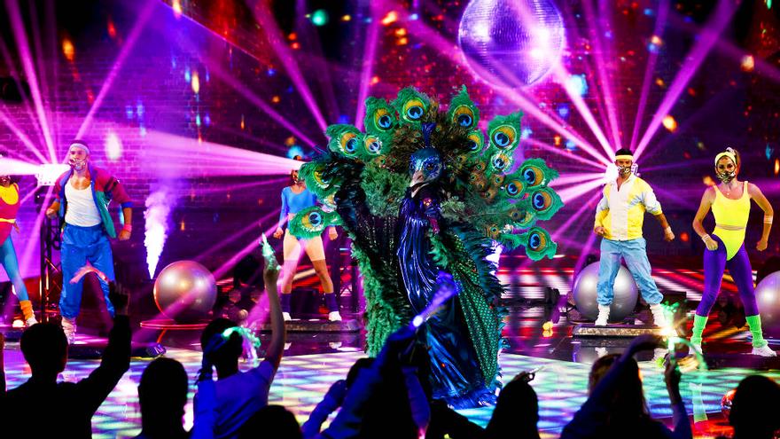 Pavo Real en 'Mask Singer'