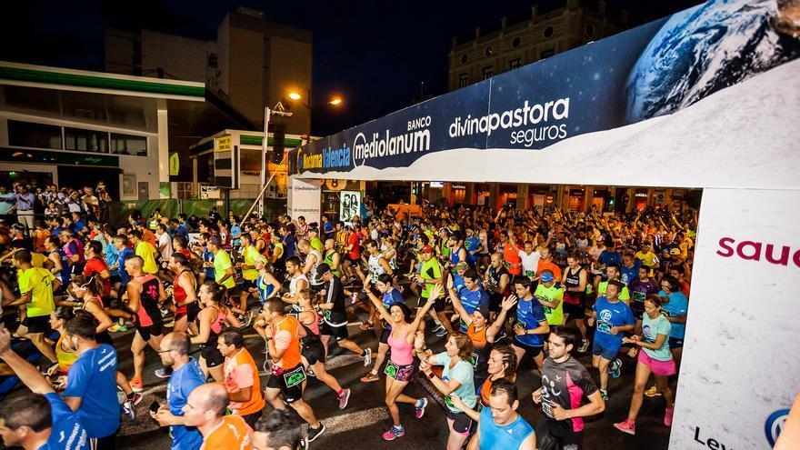Los corredores en la pasada edición de la 15K