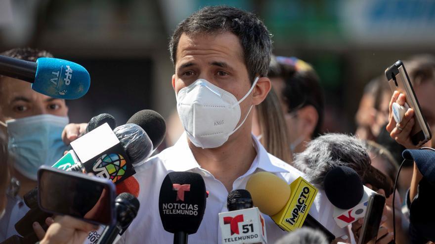 Guaidó ve vacía la promesa de Maduro de quitar las autoridades regionales paralelas