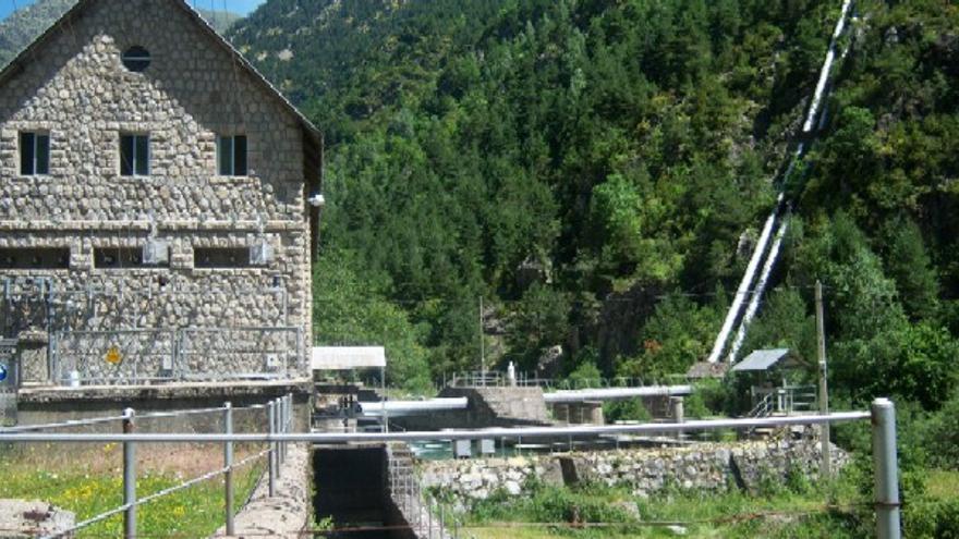 Central Hidroeléctrica de Barrosa
