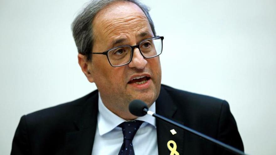 "Torra llama al independentismo a retomar la ""ruptura democrática"""