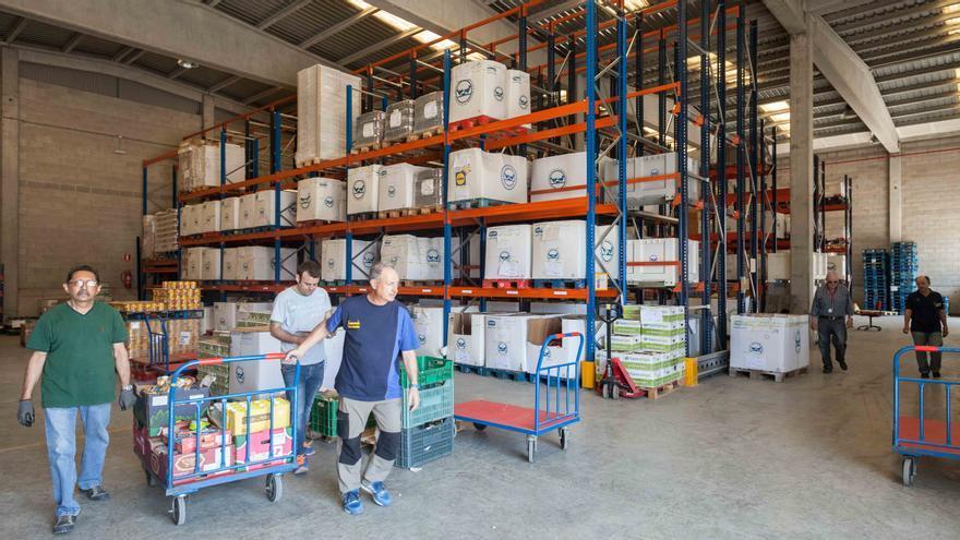 Banco de Alimentos. Foto: Juan Manzanara