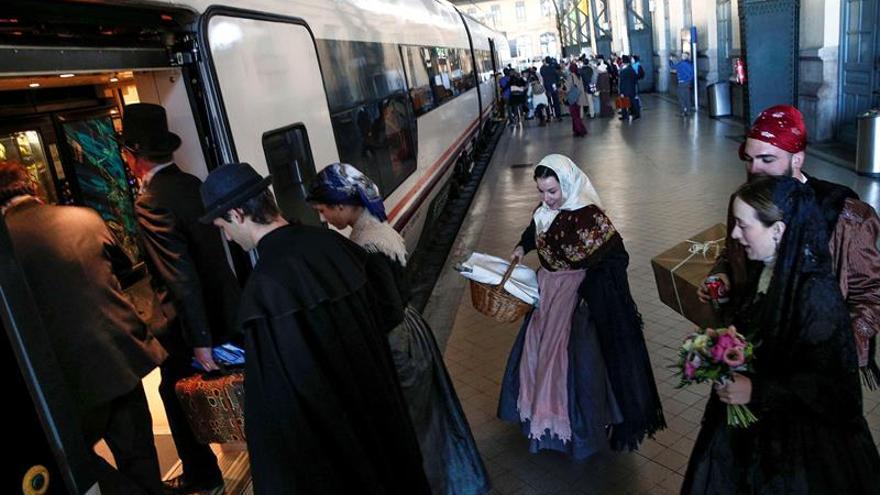 Teruel reclama desde Valencia hasta Zaragoza el tren Cantábrico- Mediterráneo