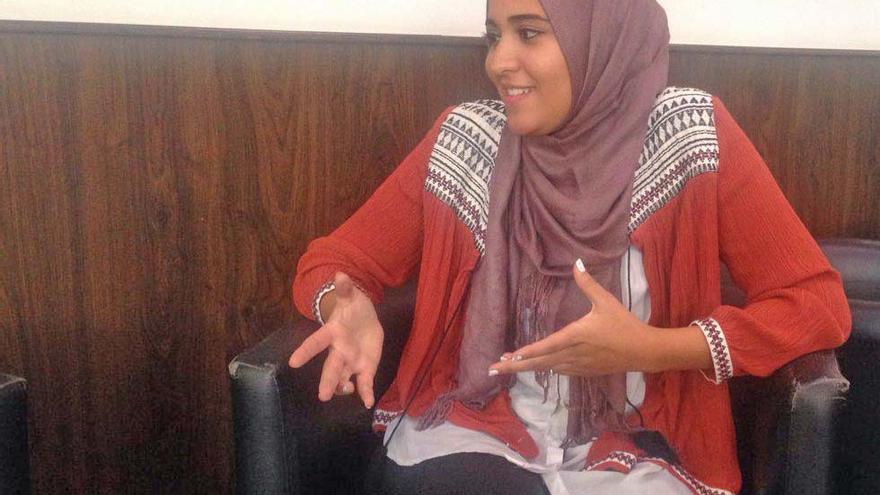 La joven valenciana de origen tunecino Takwa Rejeb