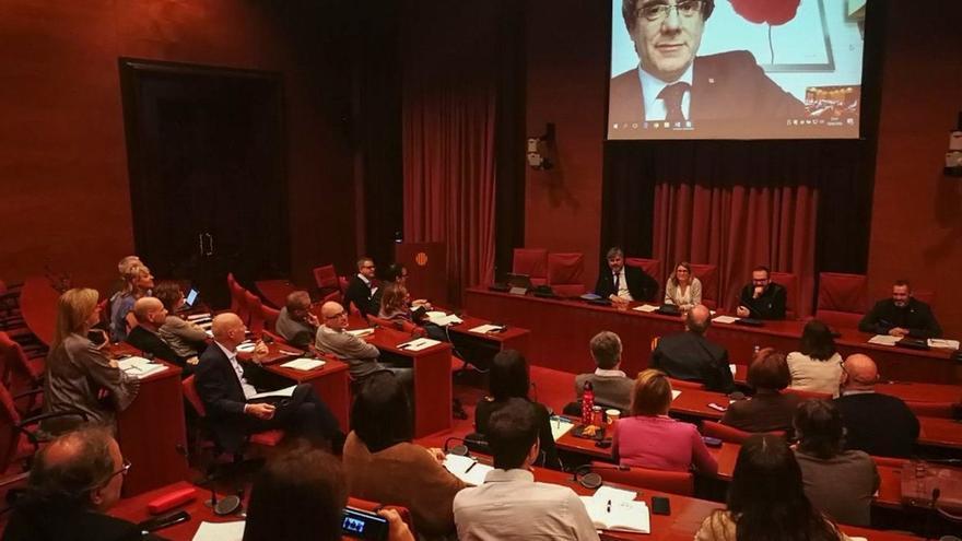Puigdemont reunirá a JxCat el miércoles en Berlín antes de afrontar un mes clave