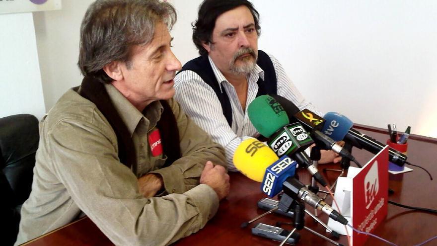Pedro Escobar y Manuel Sosa, juntos en una rueda de prensa en 2010 / http://manolososa.blogspot.com.es/