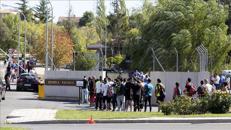 Comienzan las pruebas físicas para 58.000 aspirantes a Policía, el doble que 2014