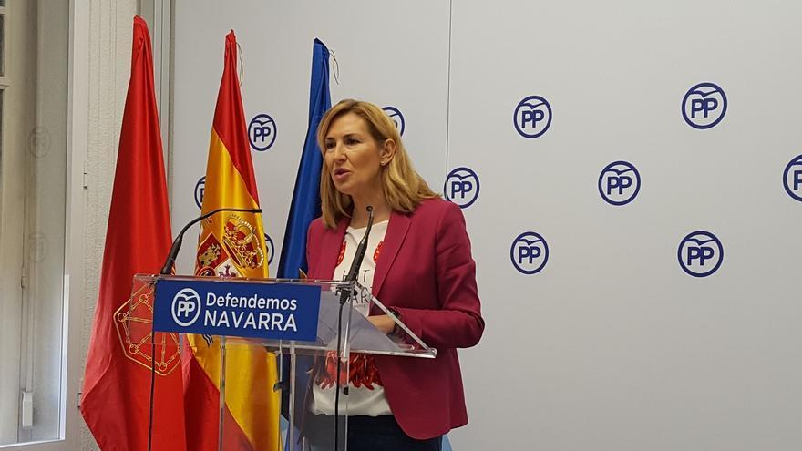 """Beltrán (PPN) afirma que """"Barkos huye de sus responsabilidades como presidenta del Gobierno"""""""
