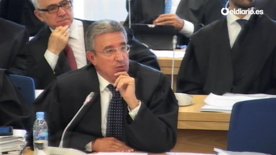 El abogado de Estanislao Rodríguez-Ponga.