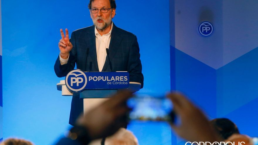 Mariano Rajoy, en una reciente visita a Córdoba | MADERO CUBERO