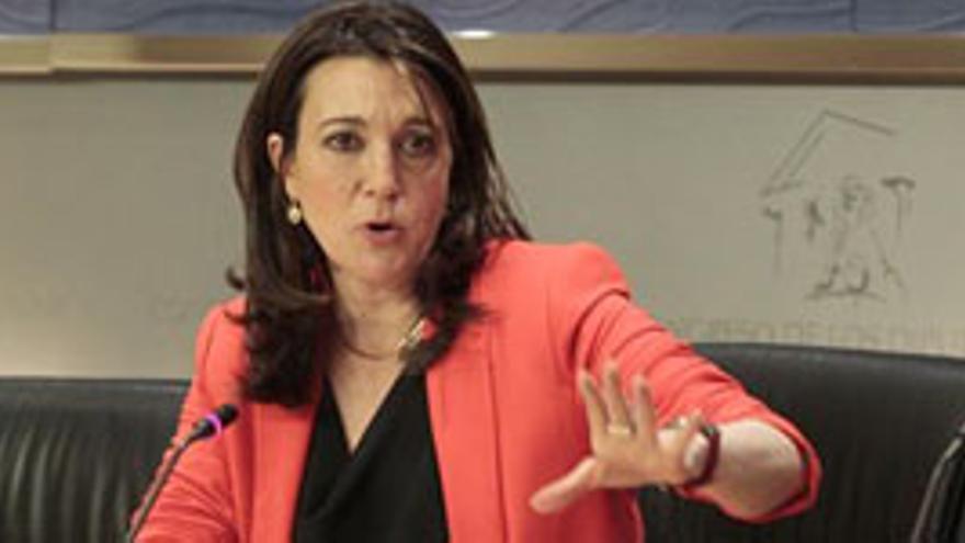 Soraya Rodríguez, portavoz del PSOE en el Congreso de los Diputados. (EUROPA PRESS)