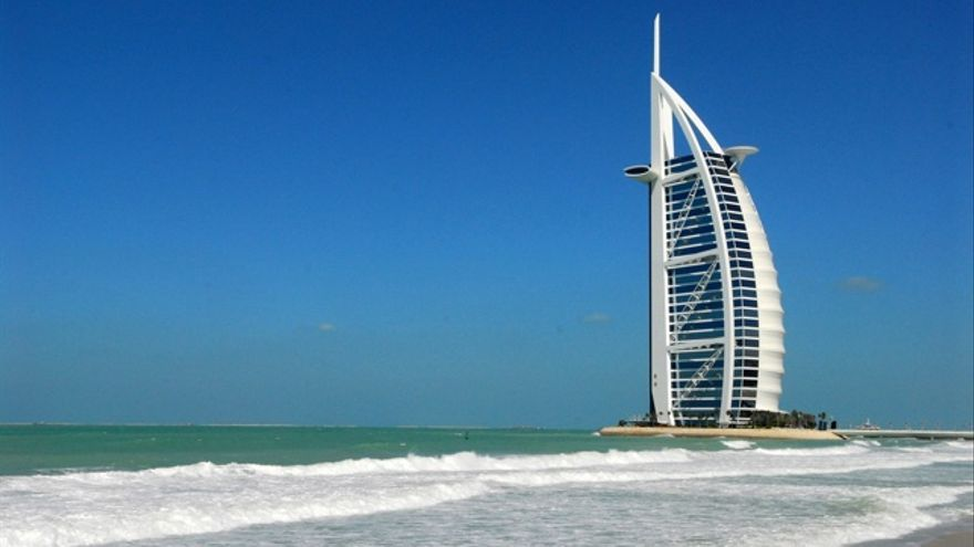 Hotel Burj Al Arab IMAGEN: Joi Ito