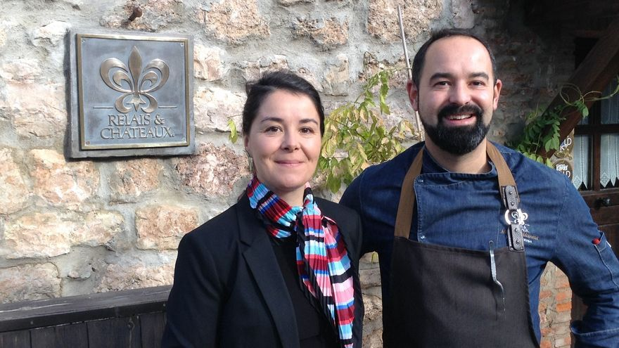 Samuel y Blanca Moreno, cocinero y sumiller del Molino de Alcuneza