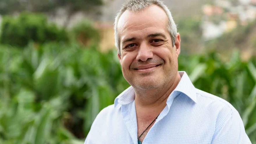 Antonio Febles, Concejal de desarrollo del territorio de Hermigua