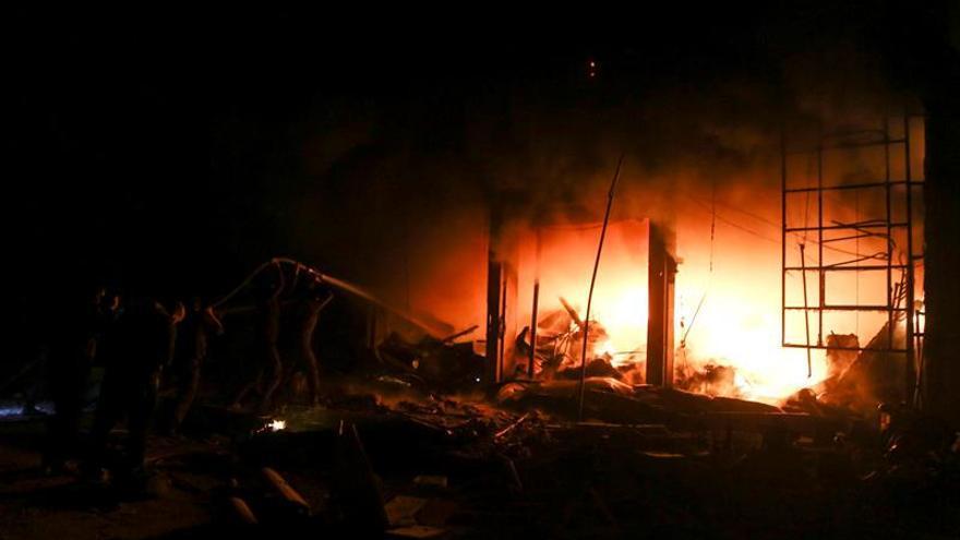 Al menos 7 personas mueren en un bombardeo contra la ciudad siria de Jan Shijún