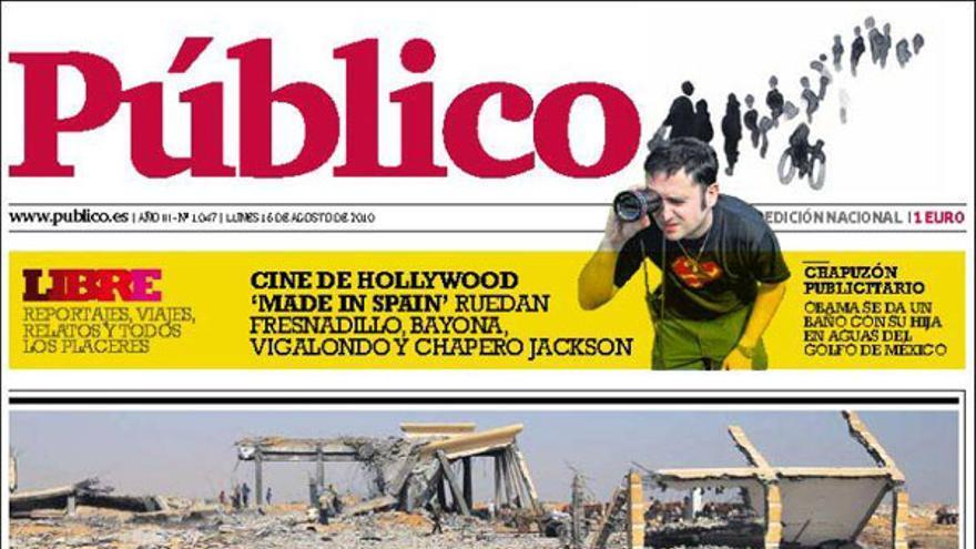 De las portadas del día (16/08/2010) #6