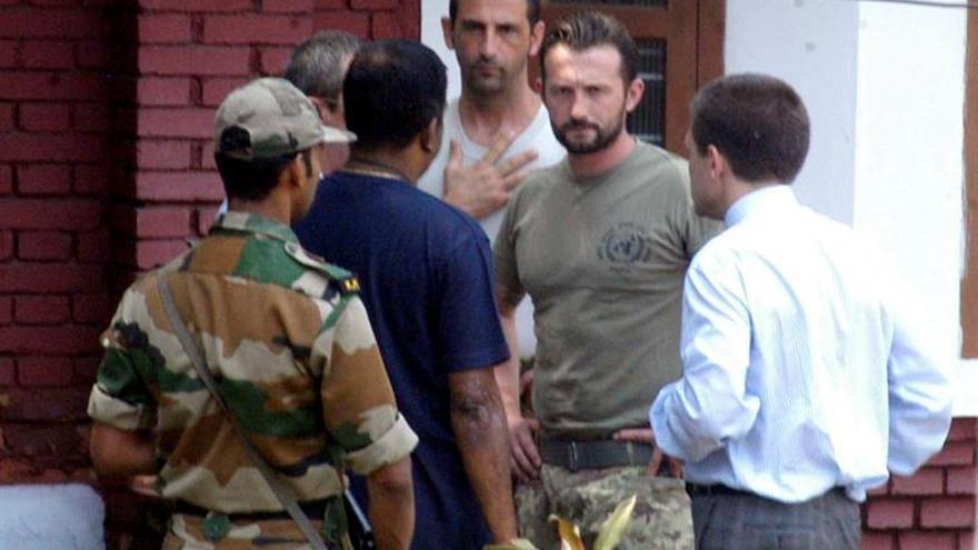 El Supremo indio autoriza a sargento italiano a regresar a casa tras cuatro años