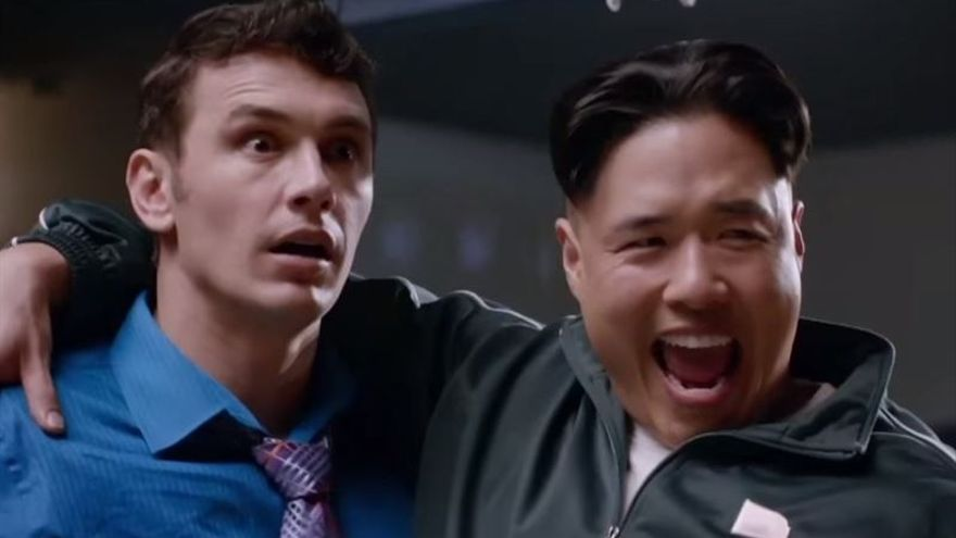 Kim Jong Un en la versión satírica de The Interview.