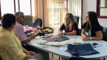 La Consejería de Artesanía y la Fundación Isonorte estudian líneas de colaboración
