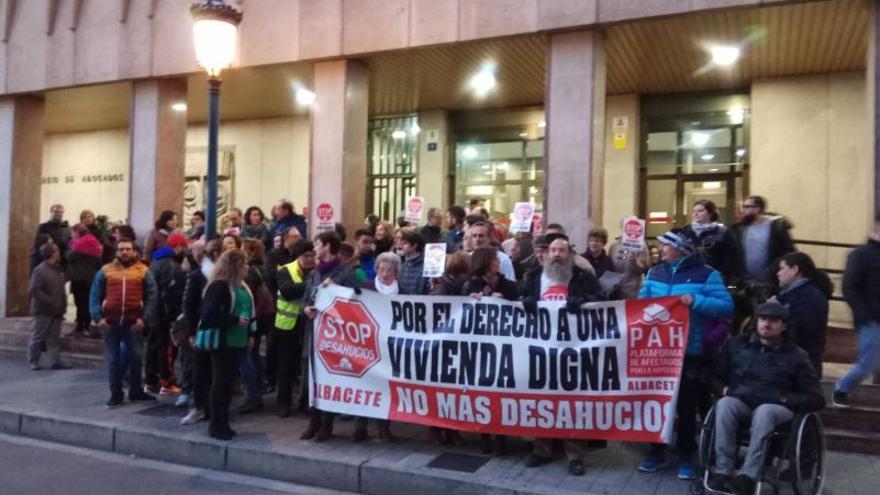 Manifestación contra el Tribunal Supremo en Albacete