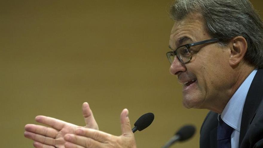 El TSJC rechaza definitivamente juzgar a Mas por malversación por el 9N