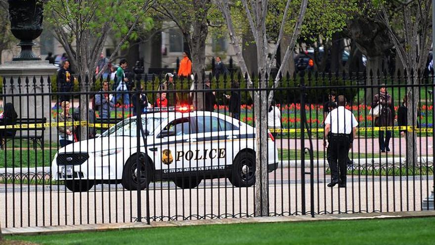 """La Policía encuentra un """"paquete sospechoso"""" en las cercanías de la Casa Blanca"""
