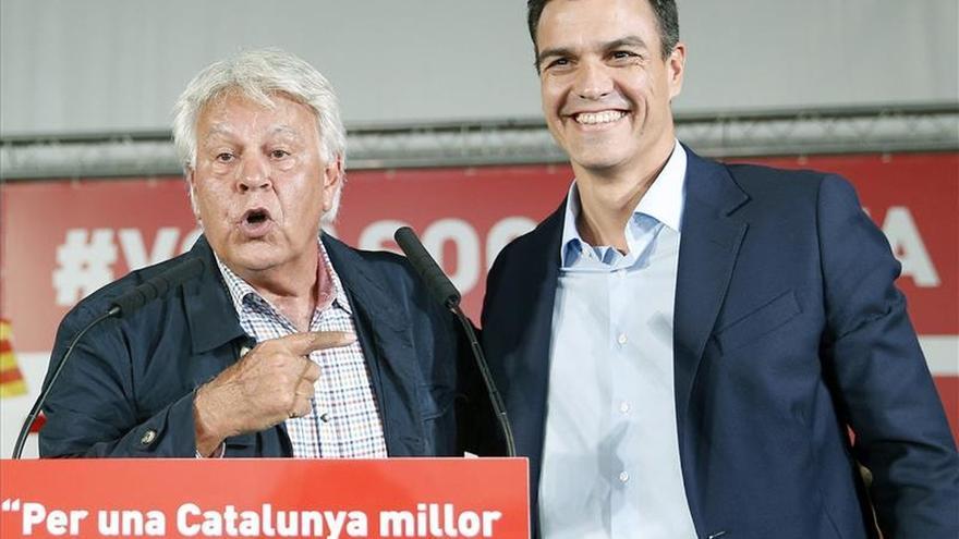 Sánchez y González presentan las propuestas del PSOE sobre política exterior