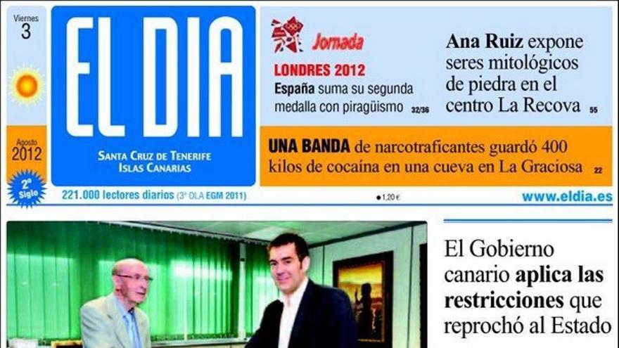 De las portadas del día (03/08/2012) #4