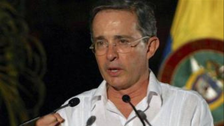 Presidente colombia alvaro uribe recurso