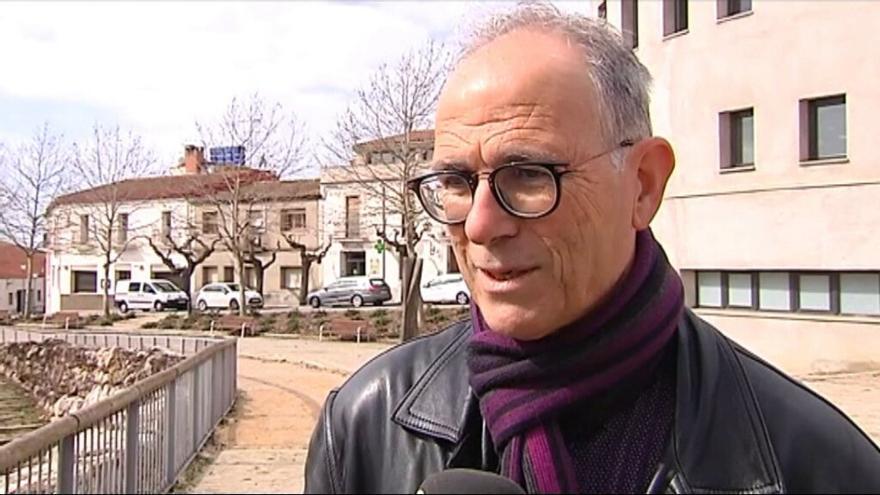 El exalcalde Marcel Surià, en un reportaje de TV3