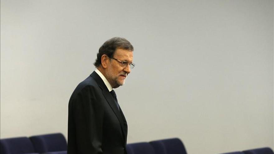 Rajoy se reafirma en la unidad frente a la crueldad de la amenaza terrorista